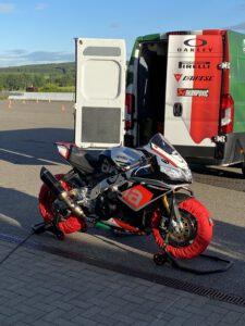 Rennstrecken Training Sachsenring